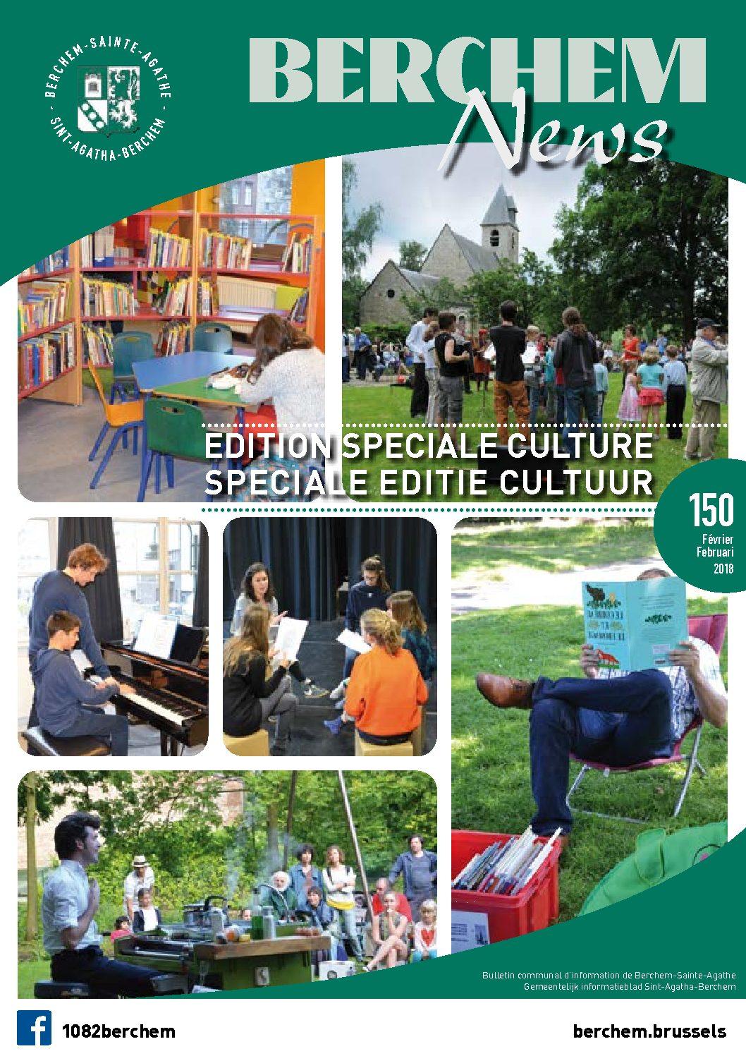 Edition Speciale Culture Speciale Editie Cultuur