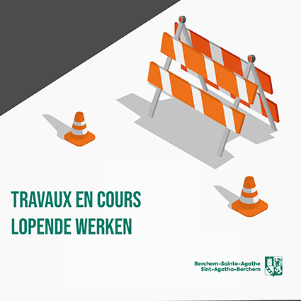 Travaux à Berchem-Sainte-Agathe