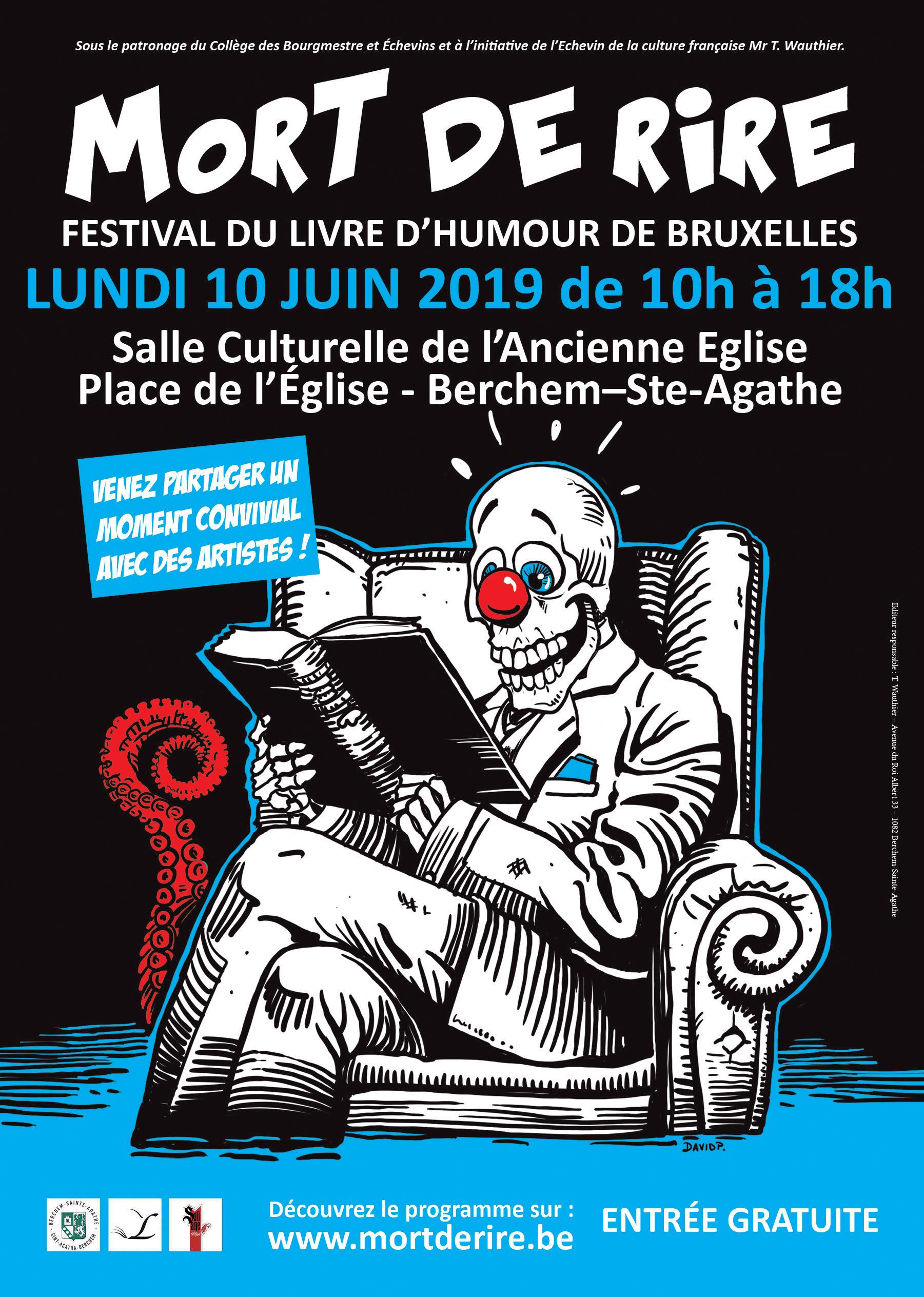 Festival Mort De Rire Festival Du Livre D Humour A Bsa